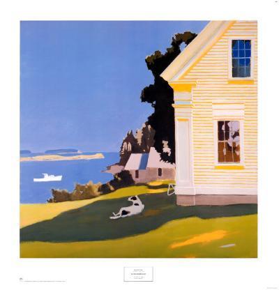 Island Farmhouse, 1969
