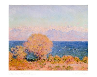View of Bay at Antibes and the Marit