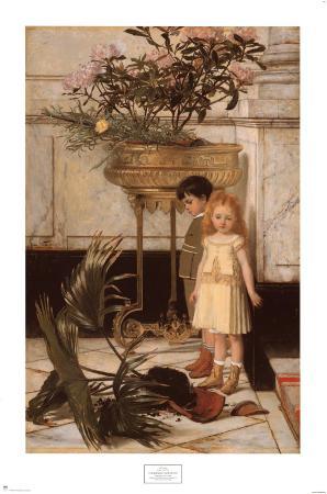 The Broken Flower Pot, 1876