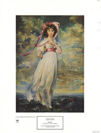 Pinkie, Sarah Barrett Moulton, 1794