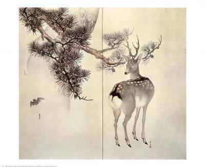 Deer Pine and Bat