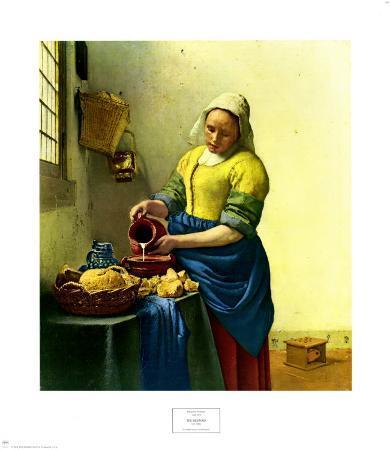 The Milkmaid, c.1656