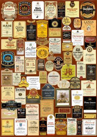 Scotch Whiskey Labels