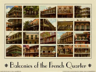 Balconies of the French Quarter