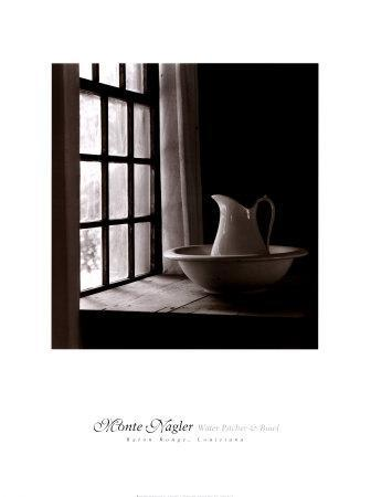Water Pitcher and Bowl