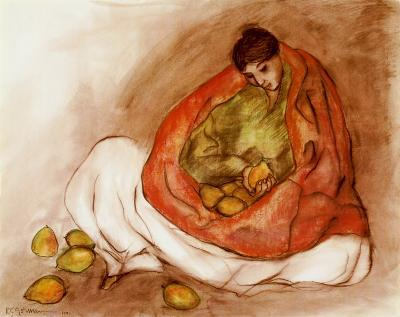 Navajo with Pears