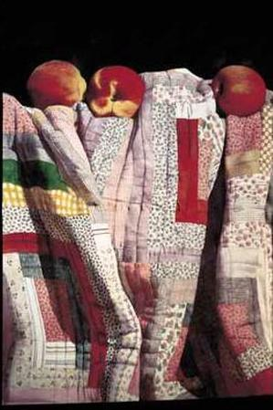 Country Quilt and Peaches
