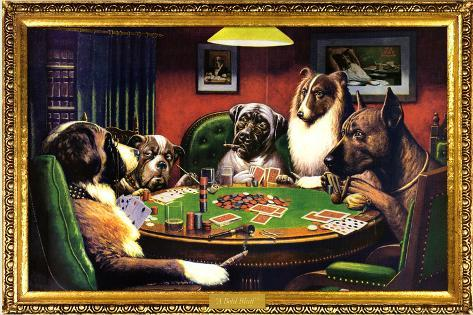 Bulldogs playing poker casino reel slots