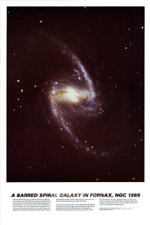Spiral Galaxy in Fornax