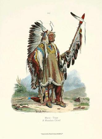 Mandan Chief