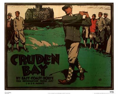 Cruden Bay Man Swinging