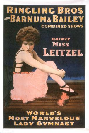 Ringling Brothers and Barnum & Bailey Circus Present: Dainty Miss Leitzel