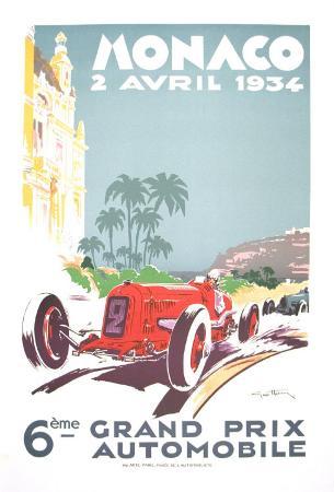 Monaco Grand Prix, 1934