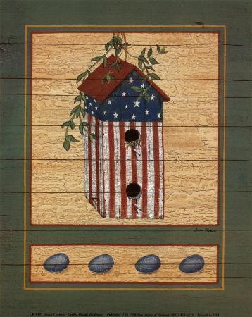 Yankee Doodle Birdhouse