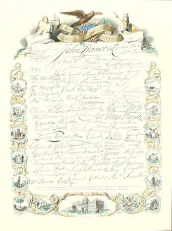 Signatures to Declaration