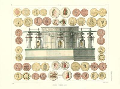 Coin Press, 1851