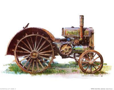 Early Model John Deere Tractor