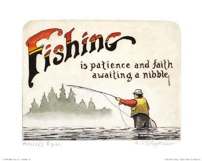 Fishing, Angler's Faith
