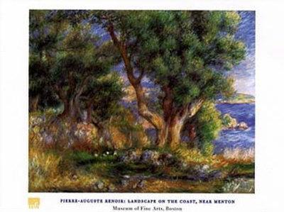 Landscape on the Coast Near Menton