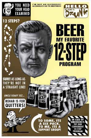 Beer, My Favorite12-Step Program
