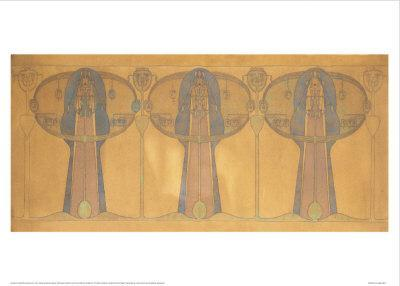 Design For a Decorative Frieze of Figures