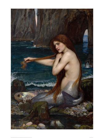 A Mermaid, 1900