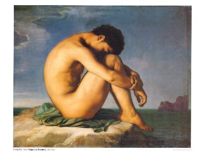 Young Male Nude, 1855