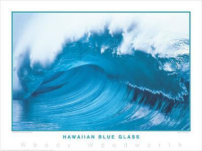 Hawaiian Blue Glass