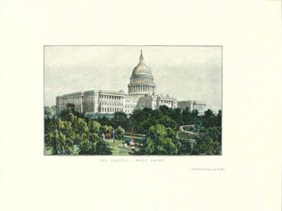 Washington D.C., Capitol 1891