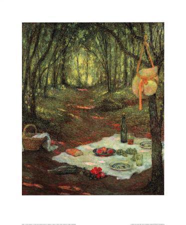 Fur Das Picknick Gedeckt im Wa