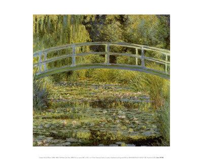 Water Lily Pond and Bridge