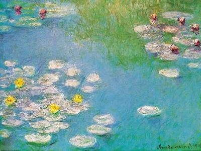 Water Lilies, c.1908 (detail)