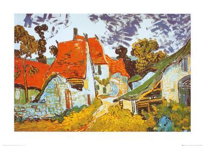 Street in Auvers (Les Toits Rouges), c.1890