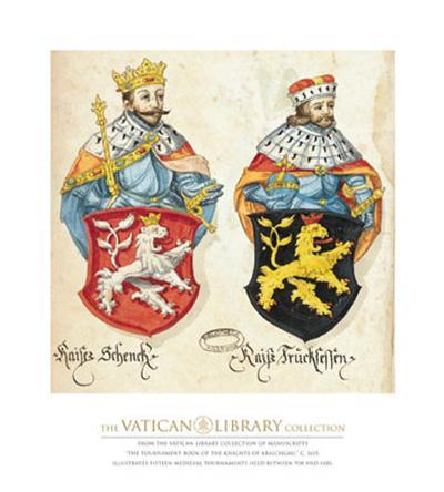 Two Kings with Lion Shields
