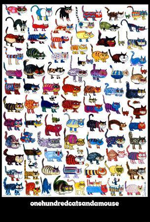 100 Cats and a Mouse