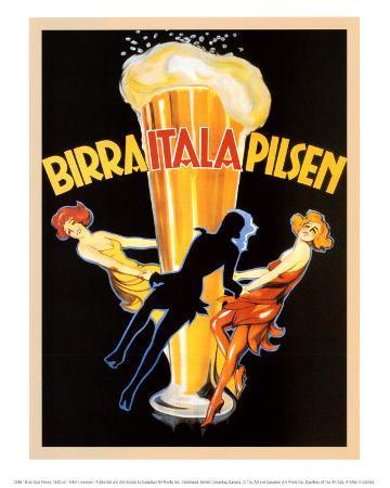 Birra Itala Pilsen, 1920