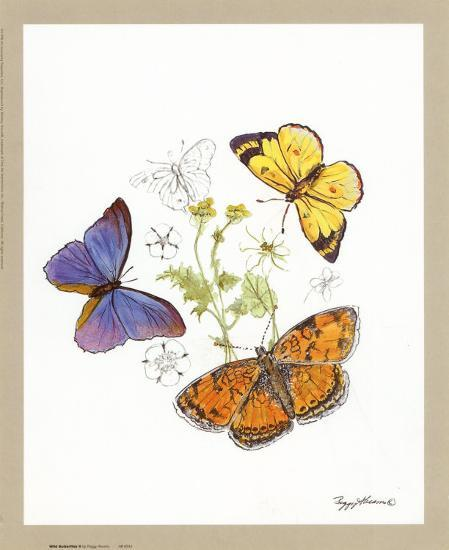 butterfly wall decor a lively addition to your life.htm wild butterflies ii  art peggy abrams allposters com  wild butterflies ii  art peggy abrams