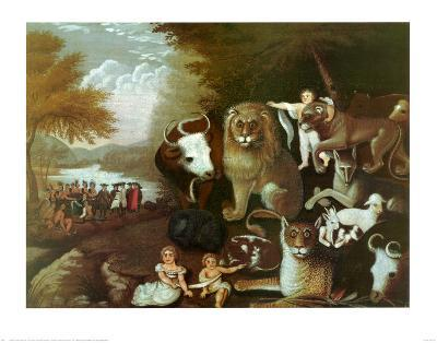 The Peaceable Kingdom, 1834