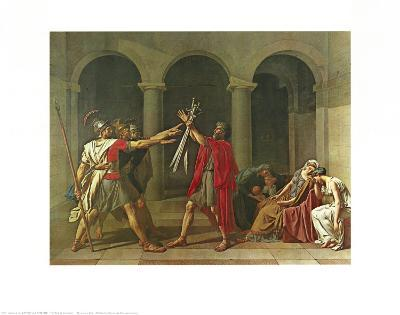 The Oath of the Horatii, 1784