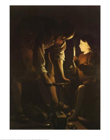 St. Joseph, the Carpenter, 1640s
