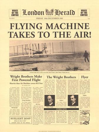 Flying Machine Takes to The Air