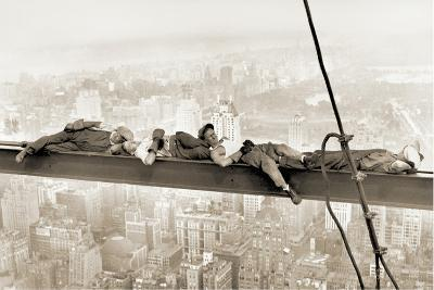 Men on Girder, 1930