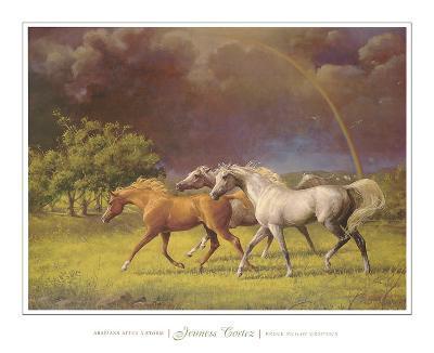 Arabians After a Storm