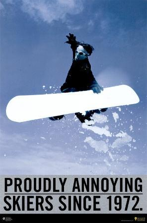 Proudly Annoying Skiers Since 1972