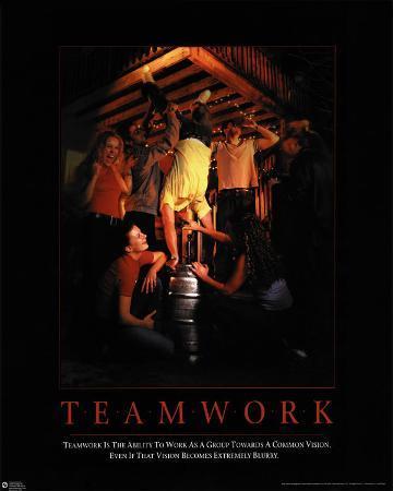 Team Work - Kegstand
