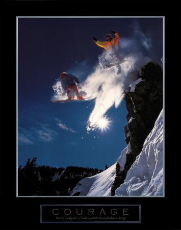 Courage: Snowboarders