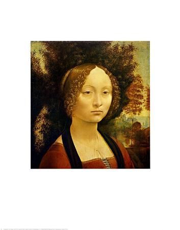 Portrait of Ginevra de'Benci. c.1478-1480