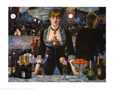 Bar at the Folies-Bergere, 1882
