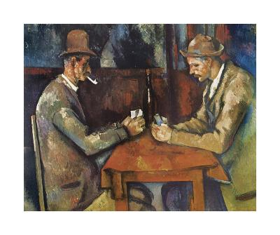 The Card Players, 1890-92