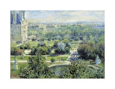 View of the Tuileries Gardens